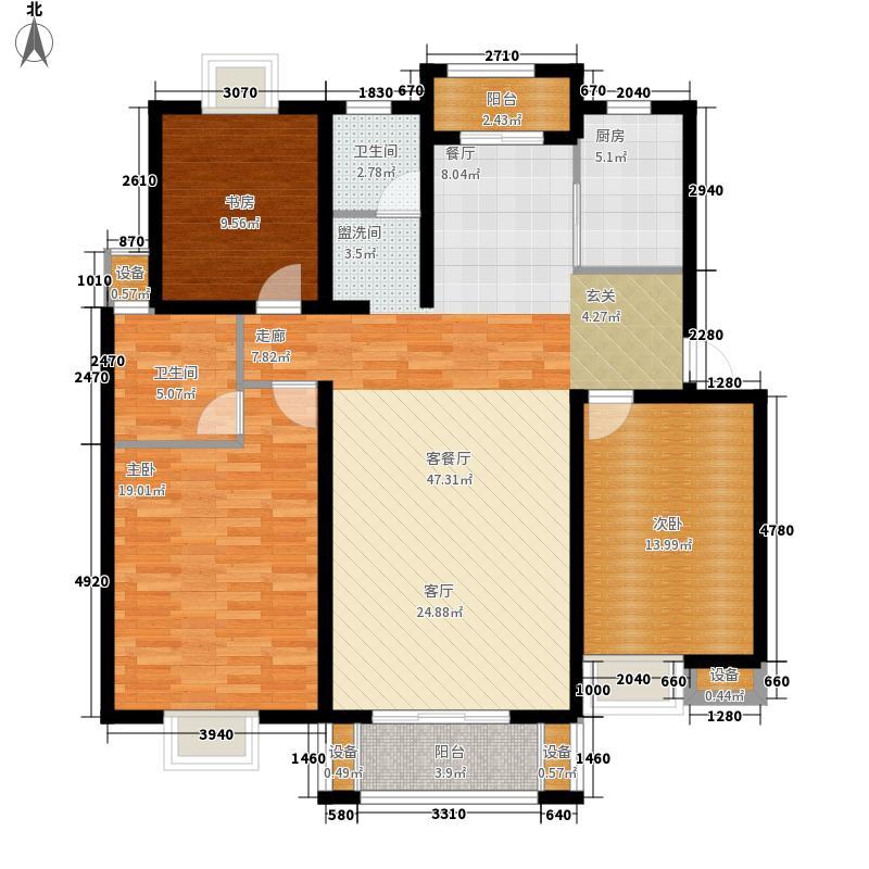 雅韵花园126.00㎡雅韵花园户型图户型图3室2厅2卫1厨户型3室2厅2卫1厨