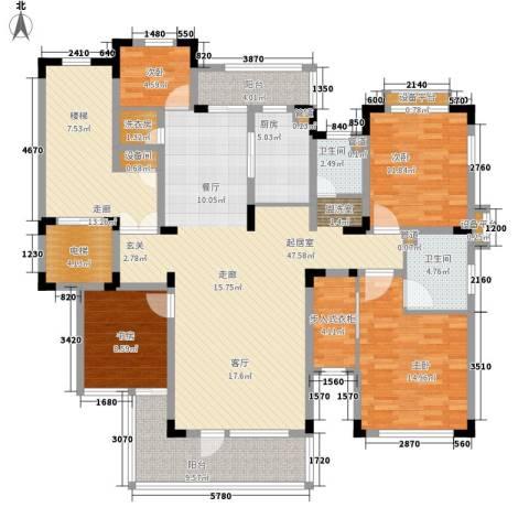 力旺塞歌维亚4室0厅2卫1厨201.00㎡户型图