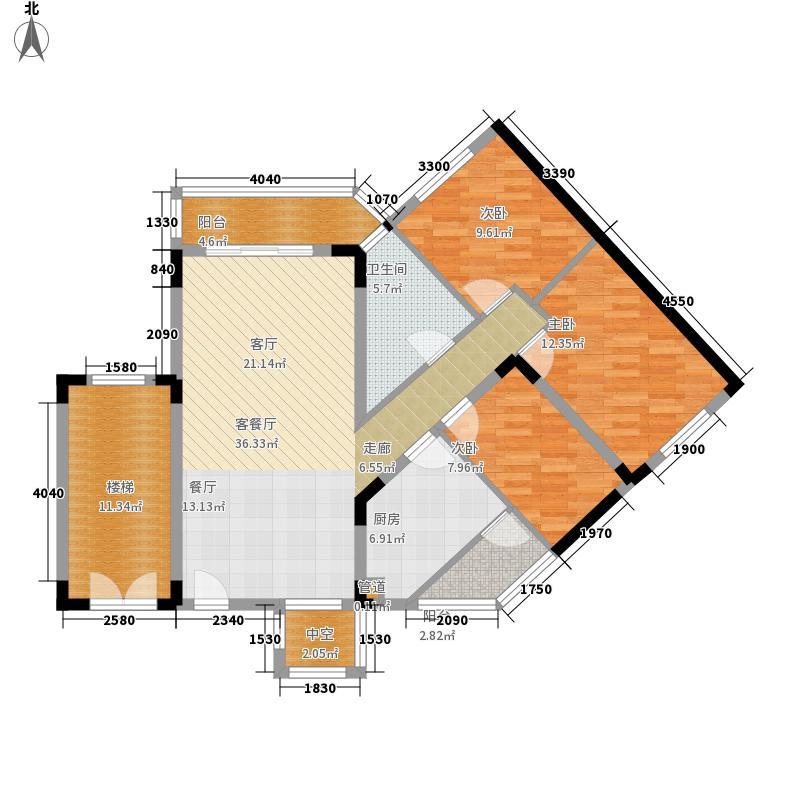 深华丽园114.28㎡深华丽园户型图4户型10室