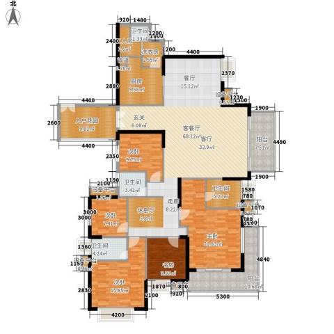 半岛城邦二期5室1厅4卫1厨269.00㎡户型图