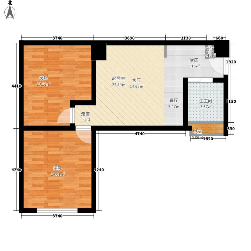 江宁家舍63.00㎡江宁家舍户型图2室户型图2室1厅1卫1厨户型2室1厅1卫1厨