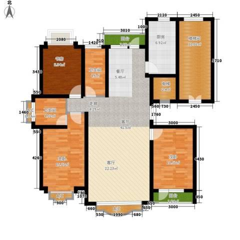 四季花城3室1厅2卫1厨162.00㎡户型图