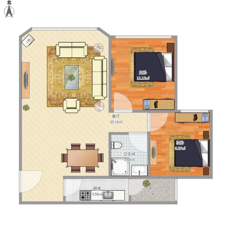 皇后国际公寓B6