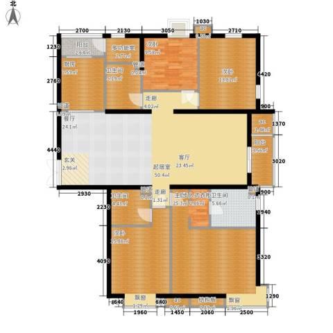 国风上观4室0厅3卫1厨200.00㎡户型图