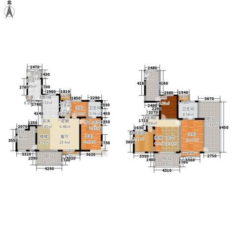 中信和平家园4室0厅3卫1厨335.00㎡户型图