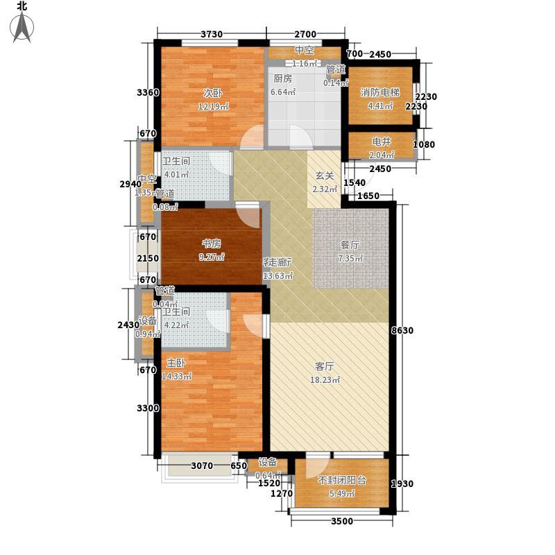 金地滨河国际・左岸125.00㎡金地滨河国际・左岸户型图A5户型3室2厅2卫1厨户型3室2厅2卫1厨
