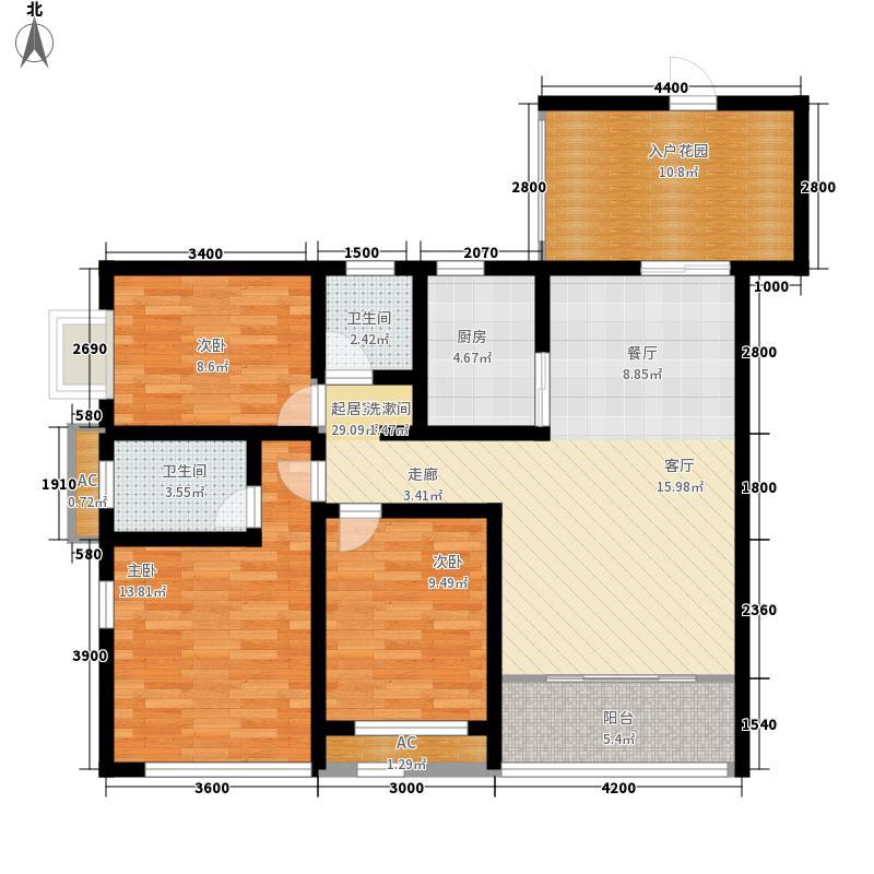 兴园小区77.00㎡兴园小区3室户型3室