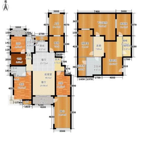 富立·秦皇半岛3室0厅3卫1厨277.00㎡户型图