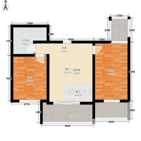 嘉乐园2室0厅1卫0厨85.32㎡户型图