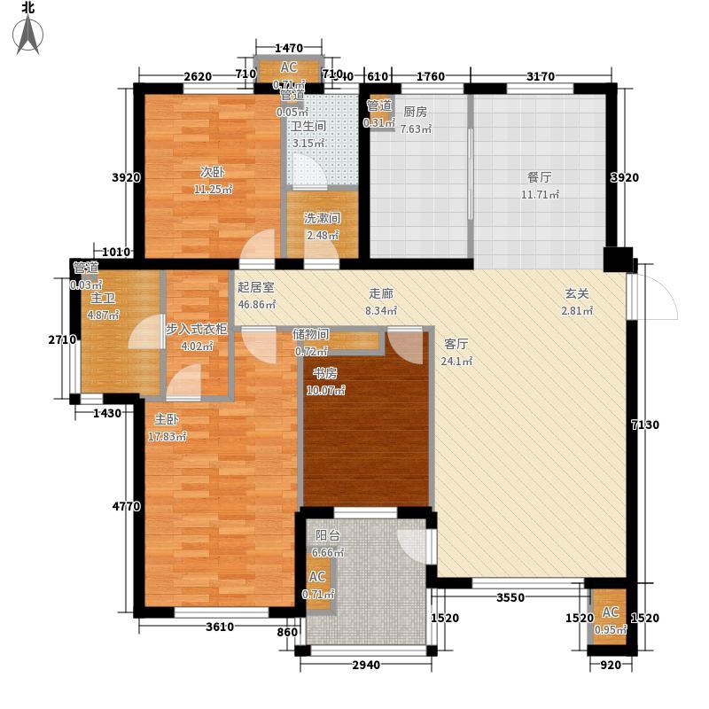 东方圣荷西164.53㎡东方圣荷西户型图户型图3室2厅2卫1厨户型3室2厅2卫1厨