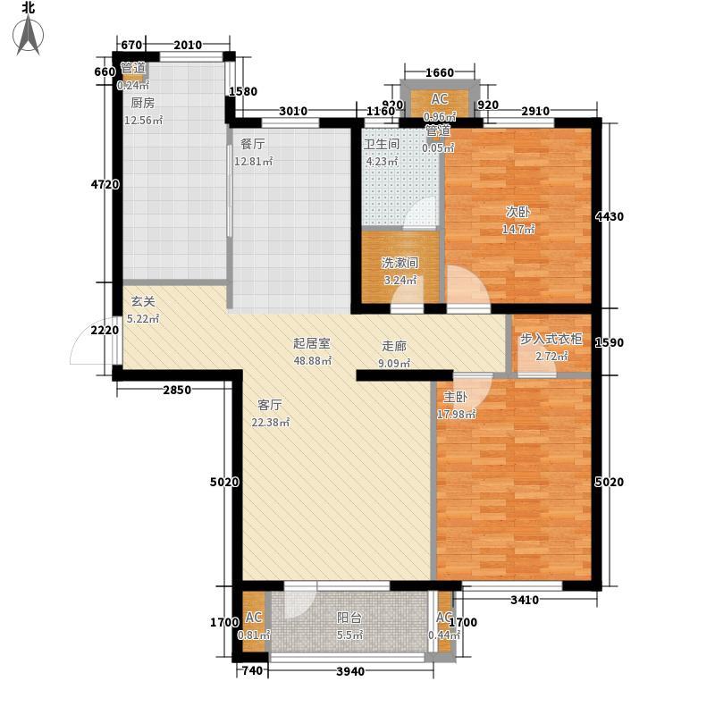 东方圣荷西126.43㎡东方圣荷西户型图户型图2室2厅1卫1厨户型2室2厅1卫1厨