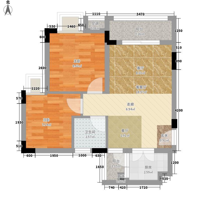 星座尚筑51.00㎡星座尚筑户型图塔罗情趣空间01、02户型2室2厅1卫1厨户型2室2厅1卫1厨