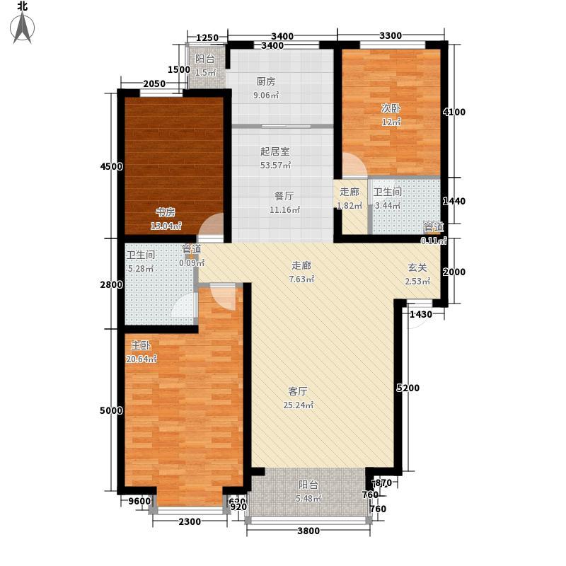 巨海城121.30㎡巨海城户型图户型图3室2厅2卫户型3室2厅2卫