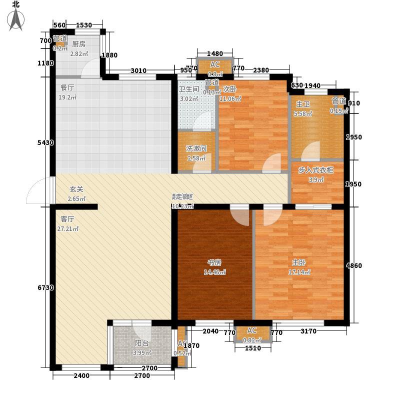 东方圣荷西172.55㎡东方圣荷西户型图户型图3室2厅2卫1厨户型3室2厅2卫1厨