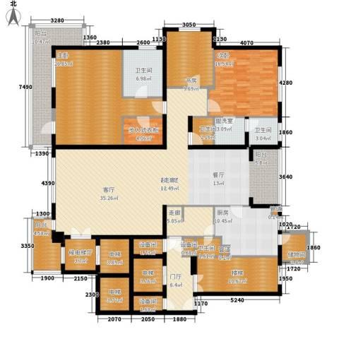 香榭假日山庄3室0厅4卫1厨240.00㎡户型图