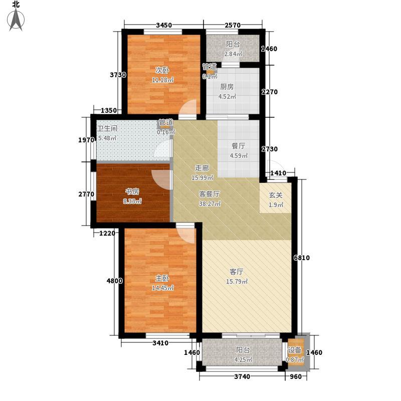 君临・蓝桥郡102.31㎡君临・蓝桥郡户型图户型图H3室2厅1卫户型3室2厅1卫