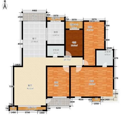 东苑村4室0厅2卫1厨268.00㎡户型图