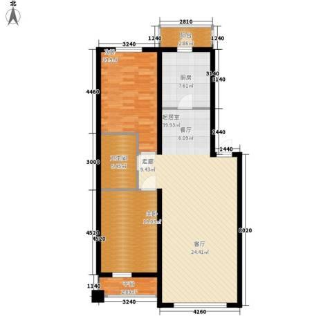 碧波康桥2室0厅1卫1厨112.00㎡户型图