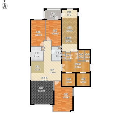 尚城国际3室0厅1卫1厨238.00㎡户型图
