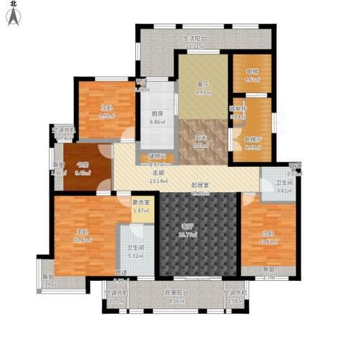 丰润鼎旺大观4室0厅2卫1厨223.00㎡户型图
