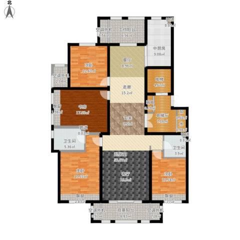 丰润鼎旺大观4室0厅2卫0厨236.00㎡户型图