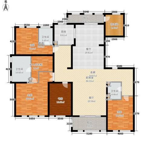 华润置地橡树湾4室0厅3卫1厨258.00㎡户型图