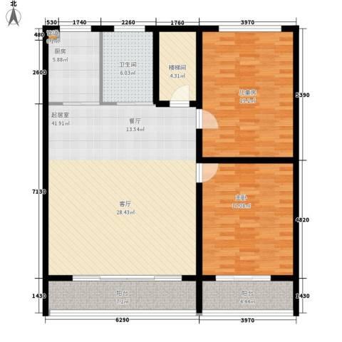 省农业厅宿舍2室0厅1卫1厨149.00㎡户型图