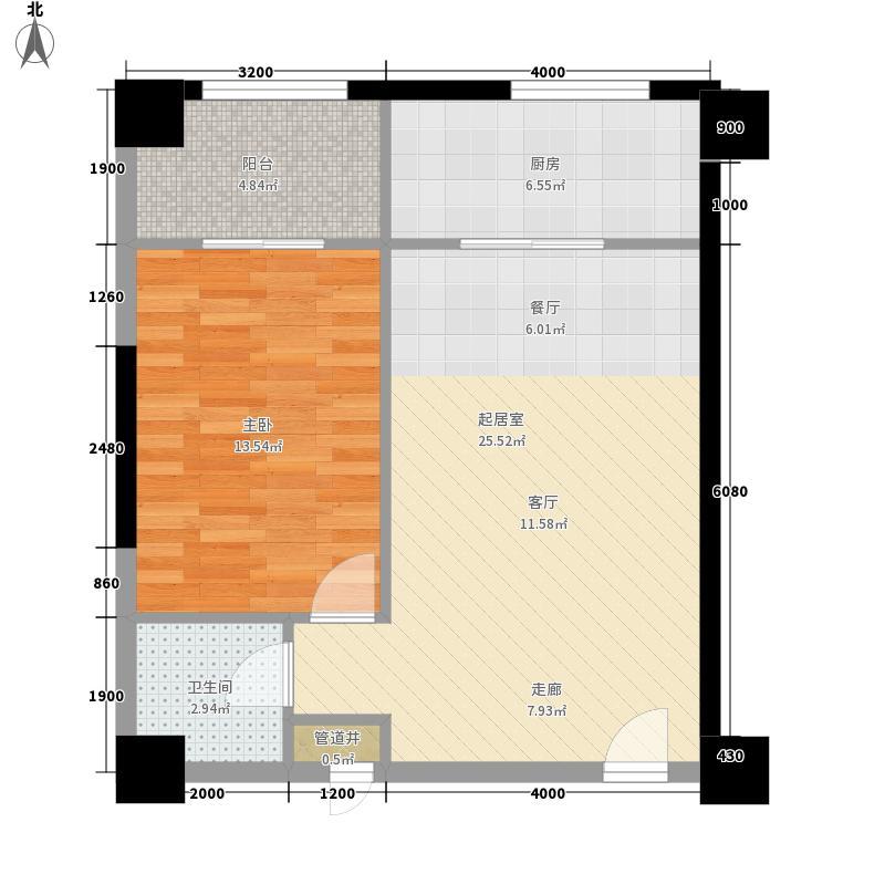 上新阶83.85㎡上新阶户型图C户型图2室1厅1卫户型2室1厅1卫