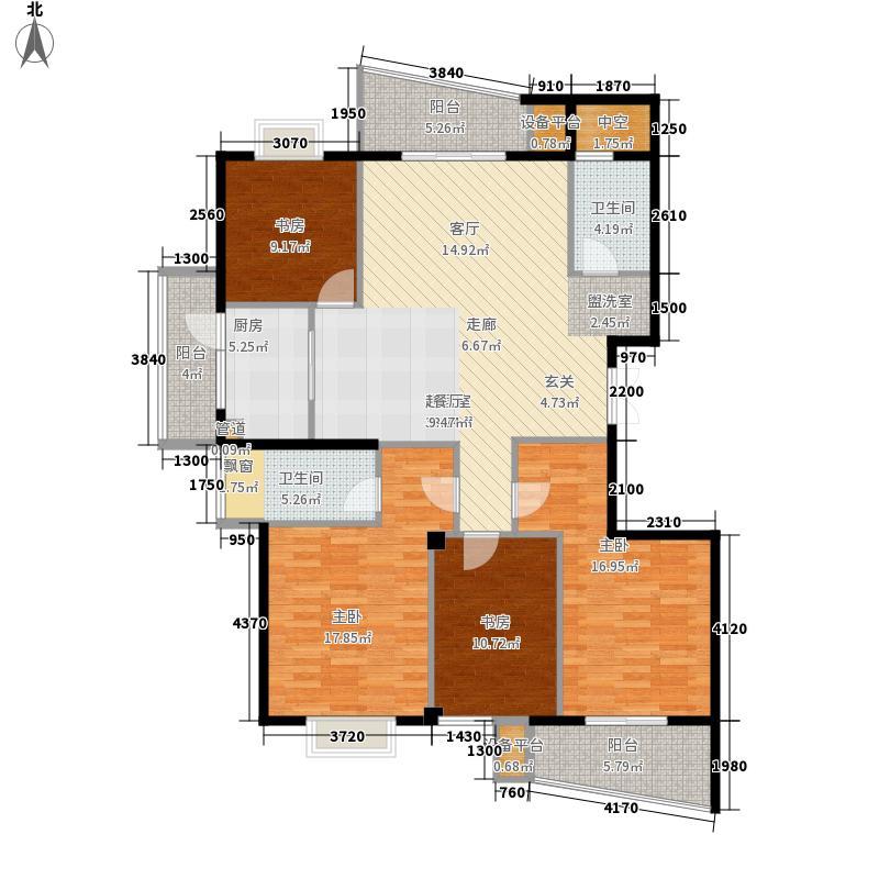 祥泰好第坊142.00㎡祥泰好第坊户型图2#D户型4室2厅2卫1厨户型4室2厅2卫1厨