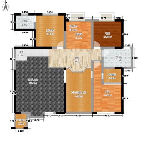 长沙嘉华城2室0厅2卫0厨226.00㎡户型图