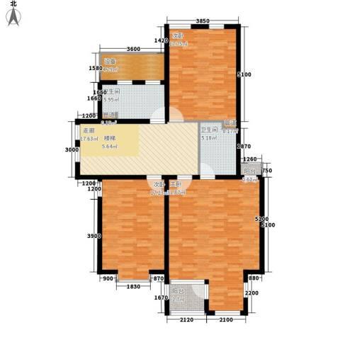 巨海城3室0厅2卫0厨143.00㎡户型图