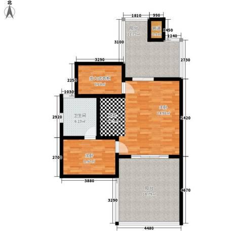 新悦花园2室0厅1卫0厨94.00㎡户型图