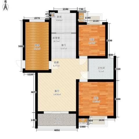 森隆蓝波湾2室0厅1卫1厨105.00㎡户型图