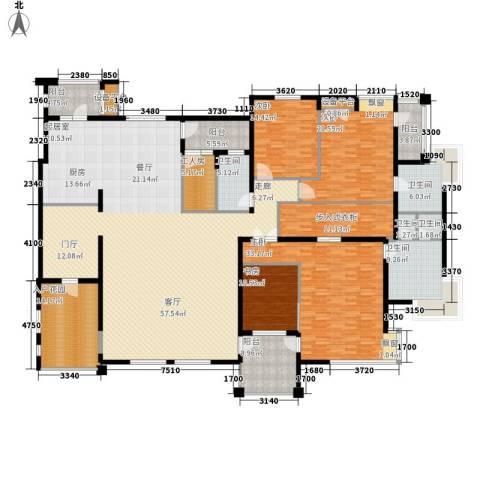伊顿国际4室0厅5卫0厨298.00㎡户型图
