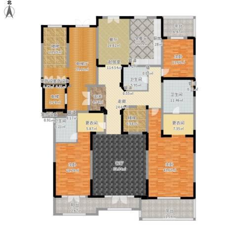 御园3室0厅2卫0厨417.00㎡户型图