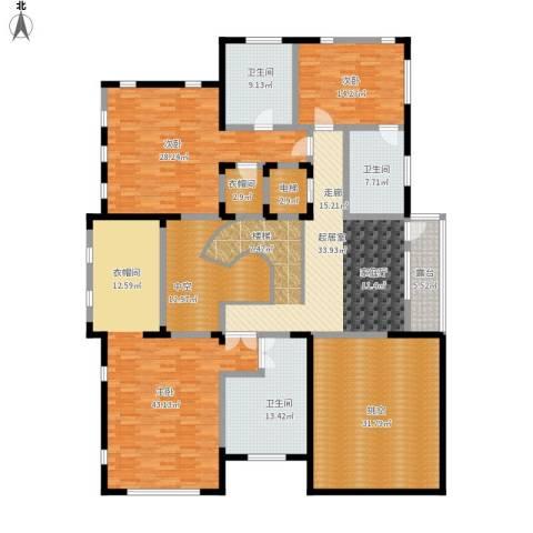 瑞宫3室0厅3卫0厨291.00㎡户型图