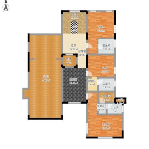 瑞宫2室0厅3卫0厨231.00㎡户型图