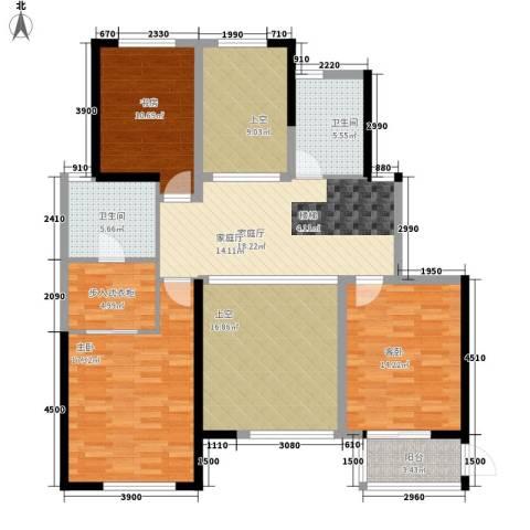 山水人家3室0厅2卫0厨273.00㎡户型图
