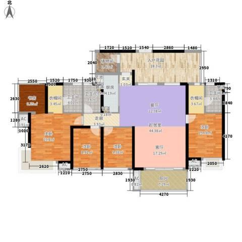 中航天逸4室0厅3卫1厨175.00㎡户型图