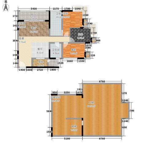 天邻风景3室0厅2卫1厨190.58㎡户型图