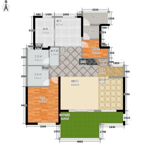 山水人家1室1厅2卫1厨273.00㎡户型图