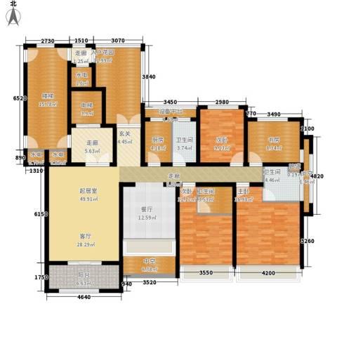 凯瑞米兰公馆4室0厅3卫1厨185.00㎡户型图