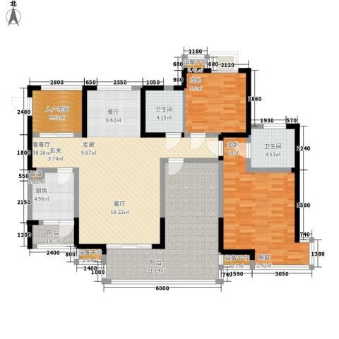 维多利亚别墅2室1厅2卫1厨159.00㎡户型图