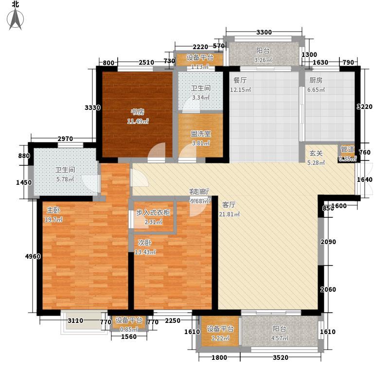 常发清扬御庭143.00㎡常发清扬御庭户型图D户型3室2厅2卫户型3室2厅2卫
