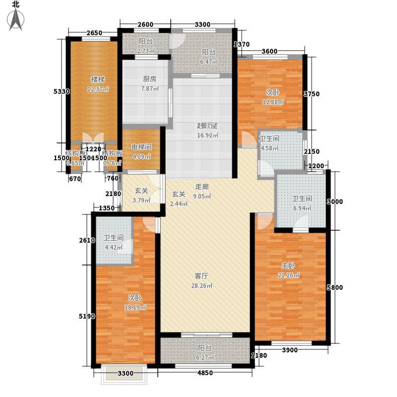 曲江华著中城183.00㎡曲江・华著中城二期8#楼A5户型