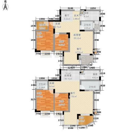 同创奥韵4室0厅4卫2厨172.00㎡户型图