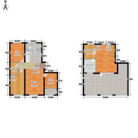 都市左岸4室0厅2卫0厨252.00㎡户型图