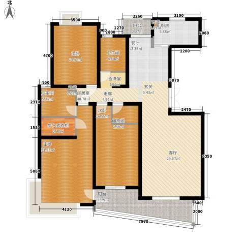 圣雅园·丽景3室0厅2卫1厨156.00㎡户型图