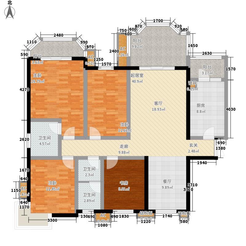 神仙树大院(高新)162.05㎡五期C-面积16205m户型