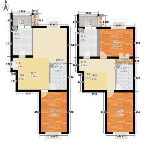 南波湾3室0厅2卫2厨172.00㎡户型图